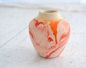 1960s Nemadji Pottery Mini Vase