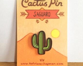 Cactus pin - Saguaro