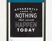 Mark Twain Quote - He Said She Said series | Graphic Design Typography Giclee Prints