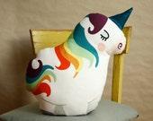 DIY Unicorn cushion, crafting, unicorn pillow, home decoration, material set, sewing instruction