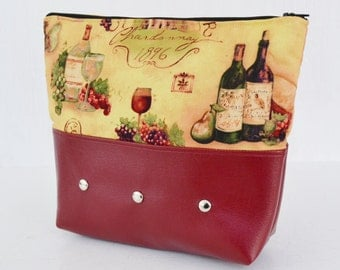 Fine as Wine Makeup Bag