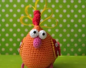 Crochet pattern - Easter hen by VendulkaM, amigurumi, crochet toy/digital pattern, DIY, pdf