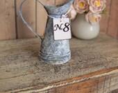 Jug zinc miniature dollhouse Miniature Scale 1:12