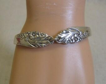 Silverplated Spoon Bracelet, Mint,