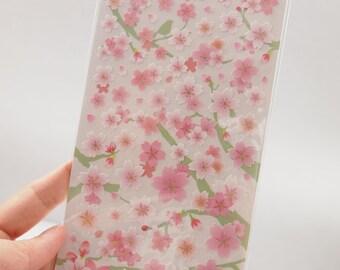 Japanese Cherry Blossoms Sticker (1 Sheet) - 75326