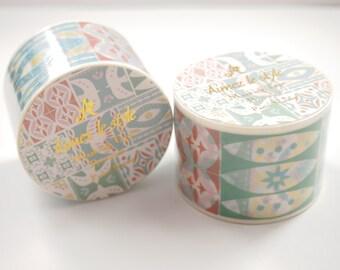 Pastel Nature Aimez le style Washi Tape (38mm X 7M) 4925