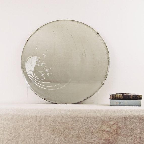 Vintage Large Mirror Wall Mirrorart Deco Round Mirror