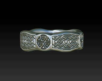 Celtic ring  Celtic wedding ring   Celtic wedding band   engagement ring Celtic jewelry TR2mm8