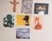 Molly Alone Gallery Wall