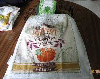 Harvest Pumpkin Patch Towel