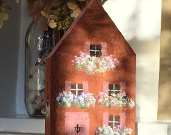 Brick Cottage Bookend