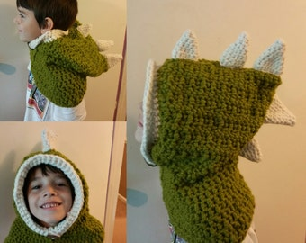Dinosaur Hooded Cowl