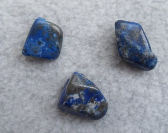 Lapis Lazuli Set of 4 Tumbled Crystals Stones (CRYT-LL-S)