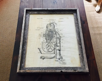 Tea-Stained Mixer Patent Print