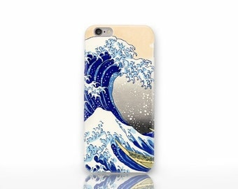 The Great wave Kanagawa 3D iPhone 6/6s case-iPhone 4/4S-Hokusai wave iPhone 6 Plus case-iPhone 5/5S-Galaxy S5/S6 case-Natura Picta-NP3D041