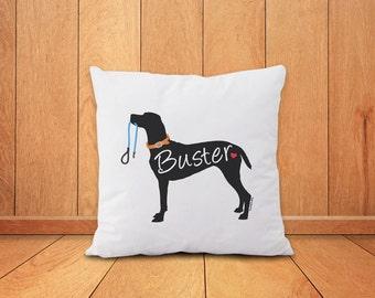 Custom dog pillow-dog pillow-home decor-dog pillow cover-custom pillow-custom pet pillow-gift for dog lover-pet pillow-NATURA PICTA-NPCP049