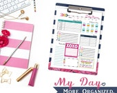 My Day. More Organized. - Daily Planner Digital File