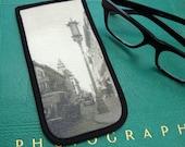 Eyeglass Case with Vintage Photo: Chinatown, San Francisco, c. 1940