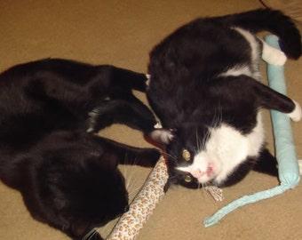 Snakey Catnip Toy - Three Snakey Mice Organic Catnip Toys