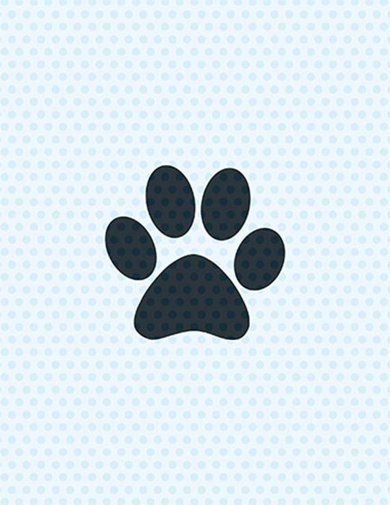 Download Paw Print Svg Dog Svg Svg Files Cricut Cut Files