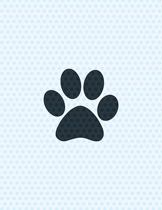 Download Paw Print Svg Dog Svg Svg Files Cricut Cut Files