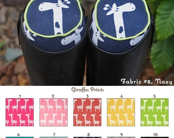 MADE TO ORDER - Giraffes English Boot Trees Many Colors