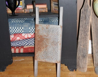 Large Primitive Grater Antique Farmhouse Decor