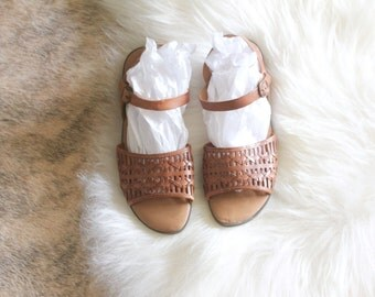 woven leather sandals / 11
