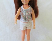 RESERVED* Crissy Doll Long Straight Auburn Hair No Bangs Cute Outfit Incl. Socks & Shoes - Hair Buttons Work