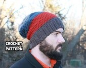 CROCHET PATTERN - Bulky Slouchy Beanie (Teenager/Adult Medium, Adult Large, Adult X-Large) - Sell What You Make