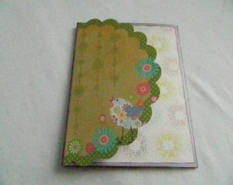 Brag Book, Folio Album, Photo Folio, Mini Scrapbook,