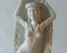 SALE!!!  Retro Coco Joe Goddess of Hula Bookends