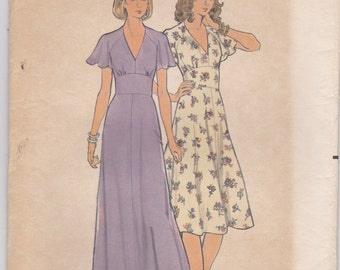 Lovely Summer Dress Pattern Butterick 5731 Size 8