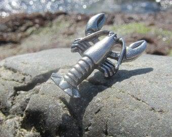 Lobster Lapel Pin