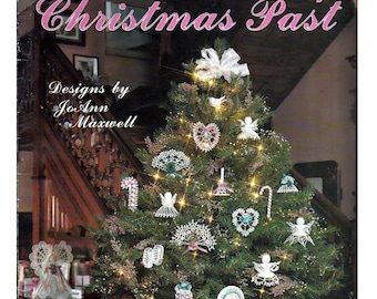 Reminiscent of Christmas Past Crochet Pattern Leaflet Leisure Arts 2207
