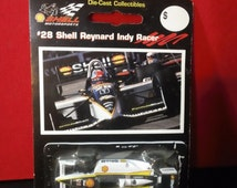 Vintage 1996 Shell Motorsports #28 Shell Reynard Indy Racer ~ 1:64 scale die-cast toy car by EPI Sports Collectibles