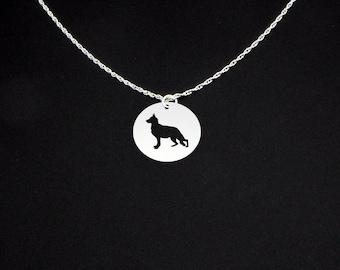 German Shepherd Necklace - Dog Necklace - German Shepherd Gift