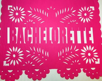Papel Picado Banner - Bachelorette- Bridal Shower-Fiesta