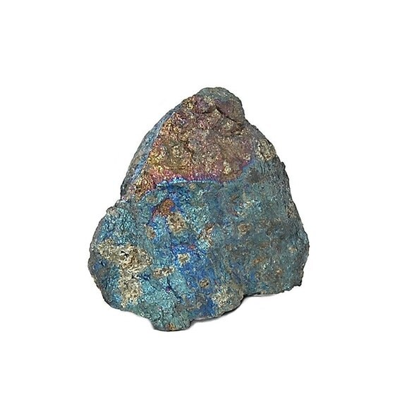 Peacock Ore Chalcopyrite, Ray Mine Arizona, Natural Purple, Blue, Green and Golden Patina Wonder Stone Rainbow Metallic Large Nugget