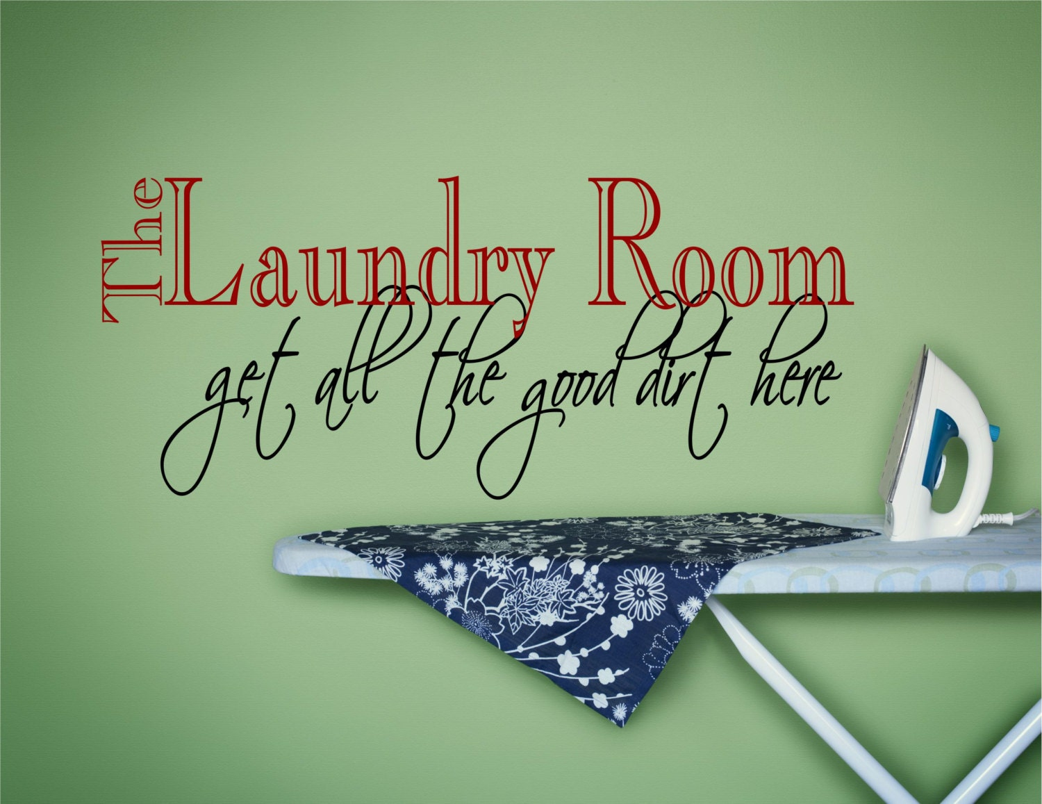 Laundry wall decal laundry wall art laundry wall decor zoom amipublicfo Image collections