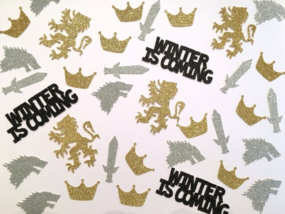 Winter is Coming Confetti