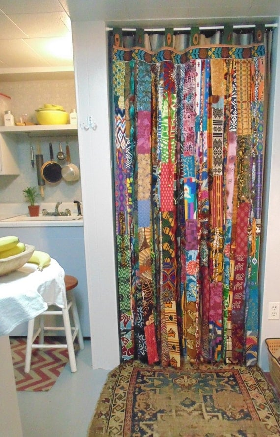Bohemian Door Bell Curtain Diy Style For Doorway Boho Chic