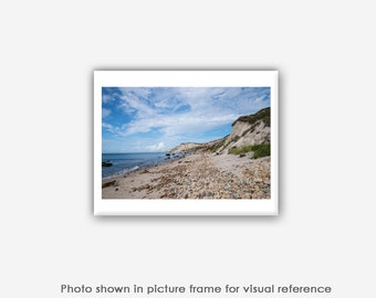 Martha's Vineyard Photography, Aquinnah Beach Photographs, Photos, Prints, Wall Art, Blank Photo Greeting Cards, Rocky Beach Card Sets