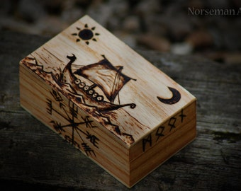 Viking Longboat Trinket Box