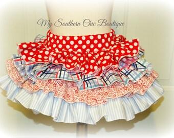 Ruffle Skirt add on, made to match ruffle skirt