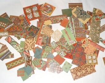 Decoupage paper, rare patterns 150 pieces