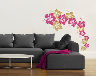 View Floral Trees By Danadecals On Etsy - Custom vinyl wall decals flowers