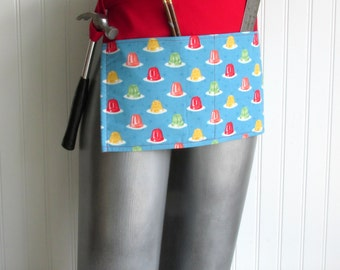 Canvas Utility Apron - Jelly Molds