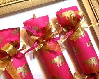 Pink Elephant Party Cracker