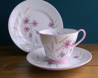 Vintage Shelley Tea Cup, Saucer and Side Plate